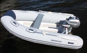 UL270 RIB Boat