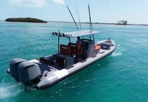 Tow Behind 1060 RIB Boat