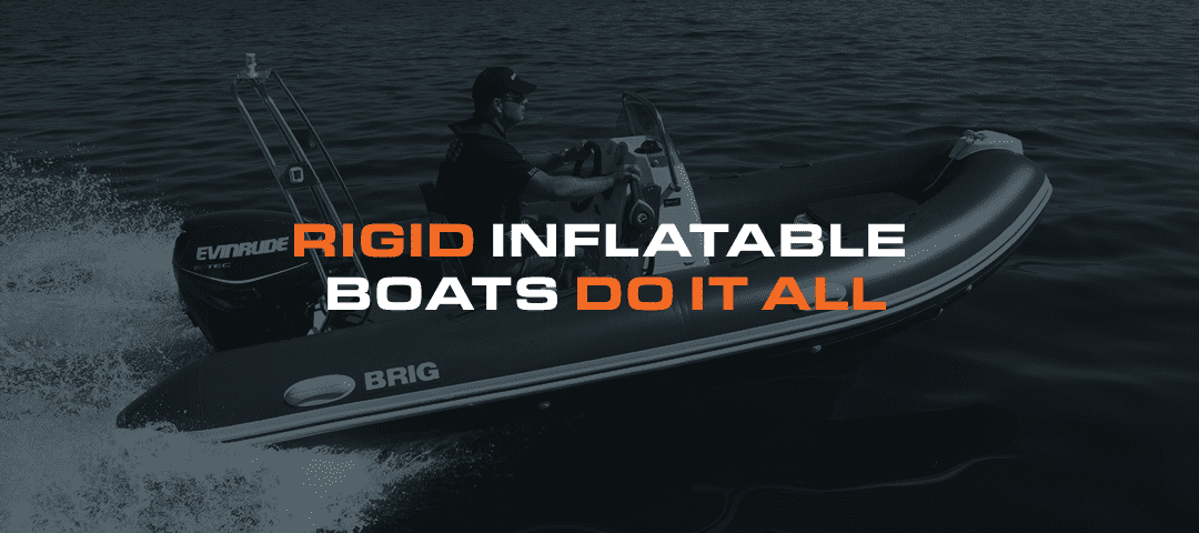 Rigid Inflatable Boats Do It All