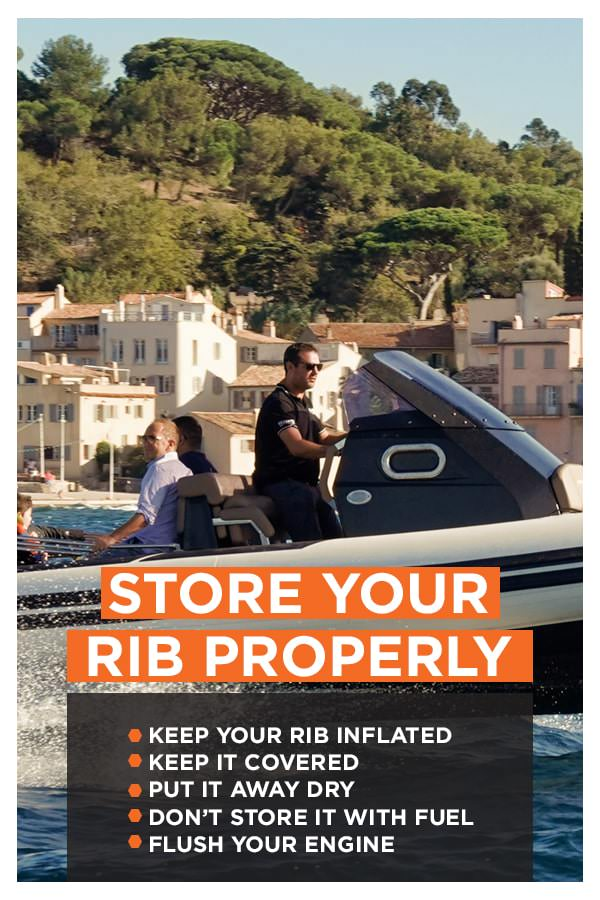 How To Store Your RIB Boat