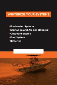 4 Winterize your systems